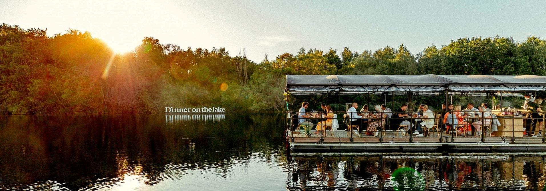 Dinner on the lake x Polderwind